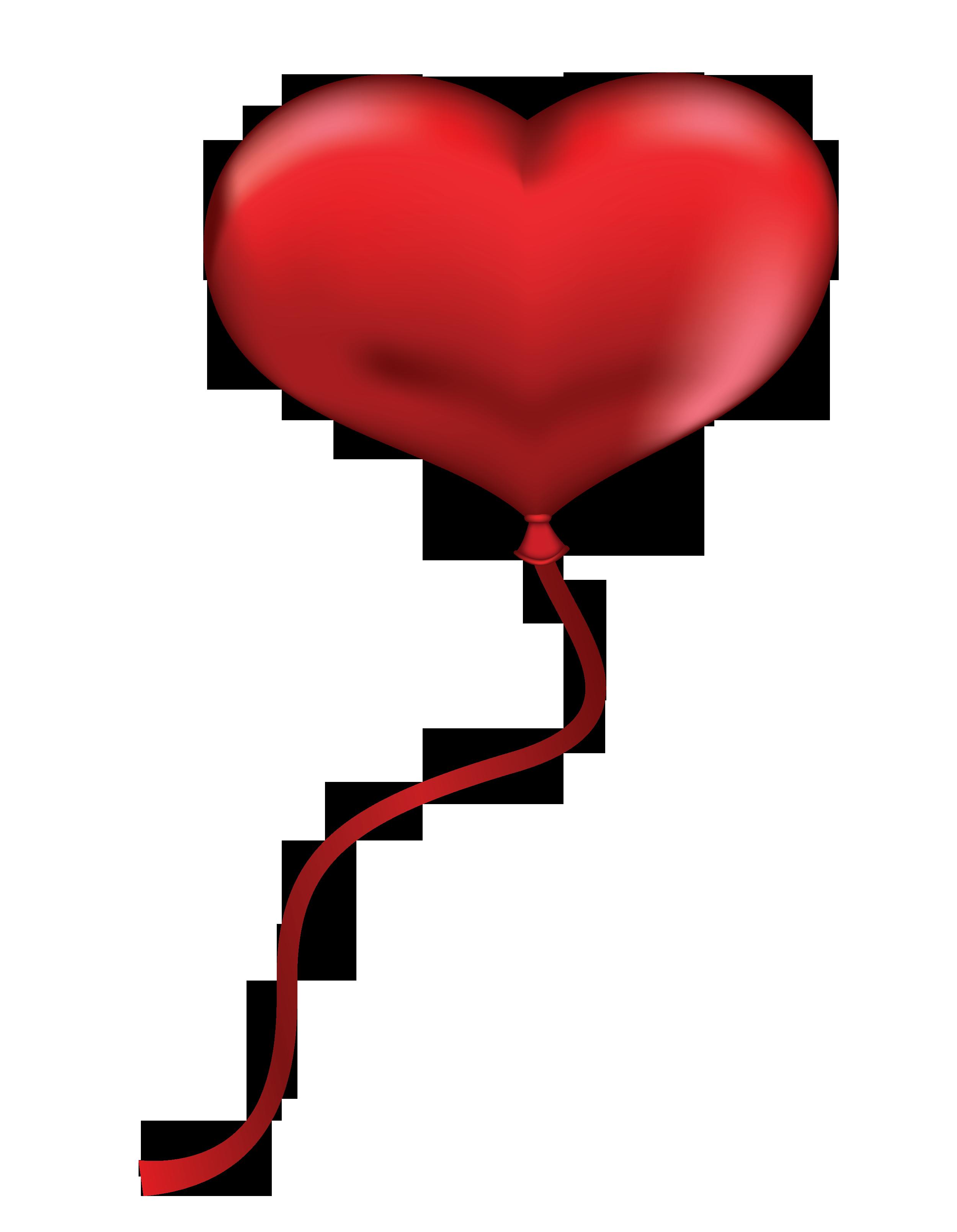 2500x3219 Valentine Heart Balloon Clip Art Free Cliparts