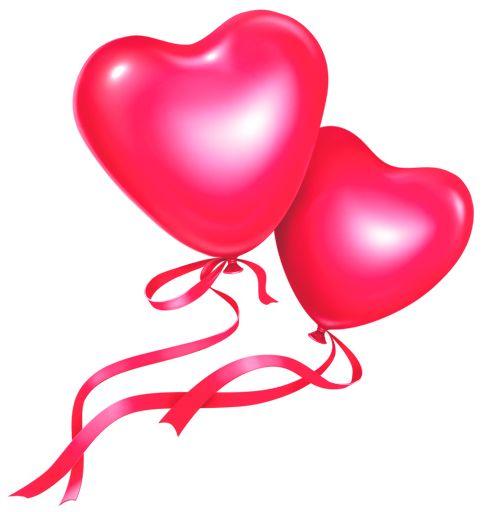 491x512 Balloon Clipart Blue Heart