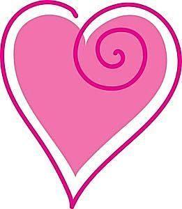 261x300 Best Free Valentine Clip Art Ideas Heart Clip