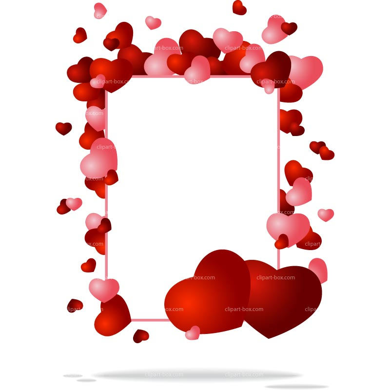 Valentine Borders Clipart | Free download best Valentine Borders ...