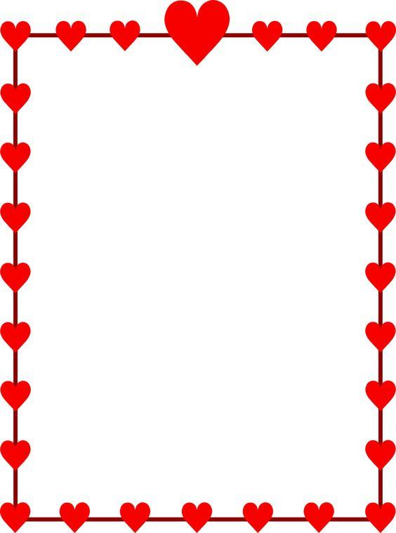 Valentine Borders Clipart Free Download Best Valentine Borders