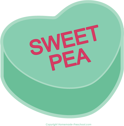 522x530 Sweet Heart Candy Clipart