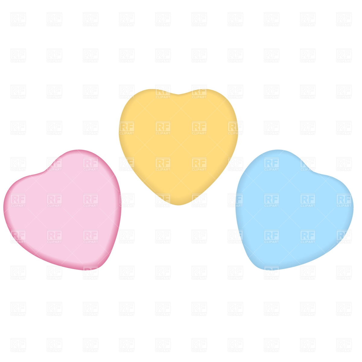 1200x1200 Valentine Candy Heart Clipart