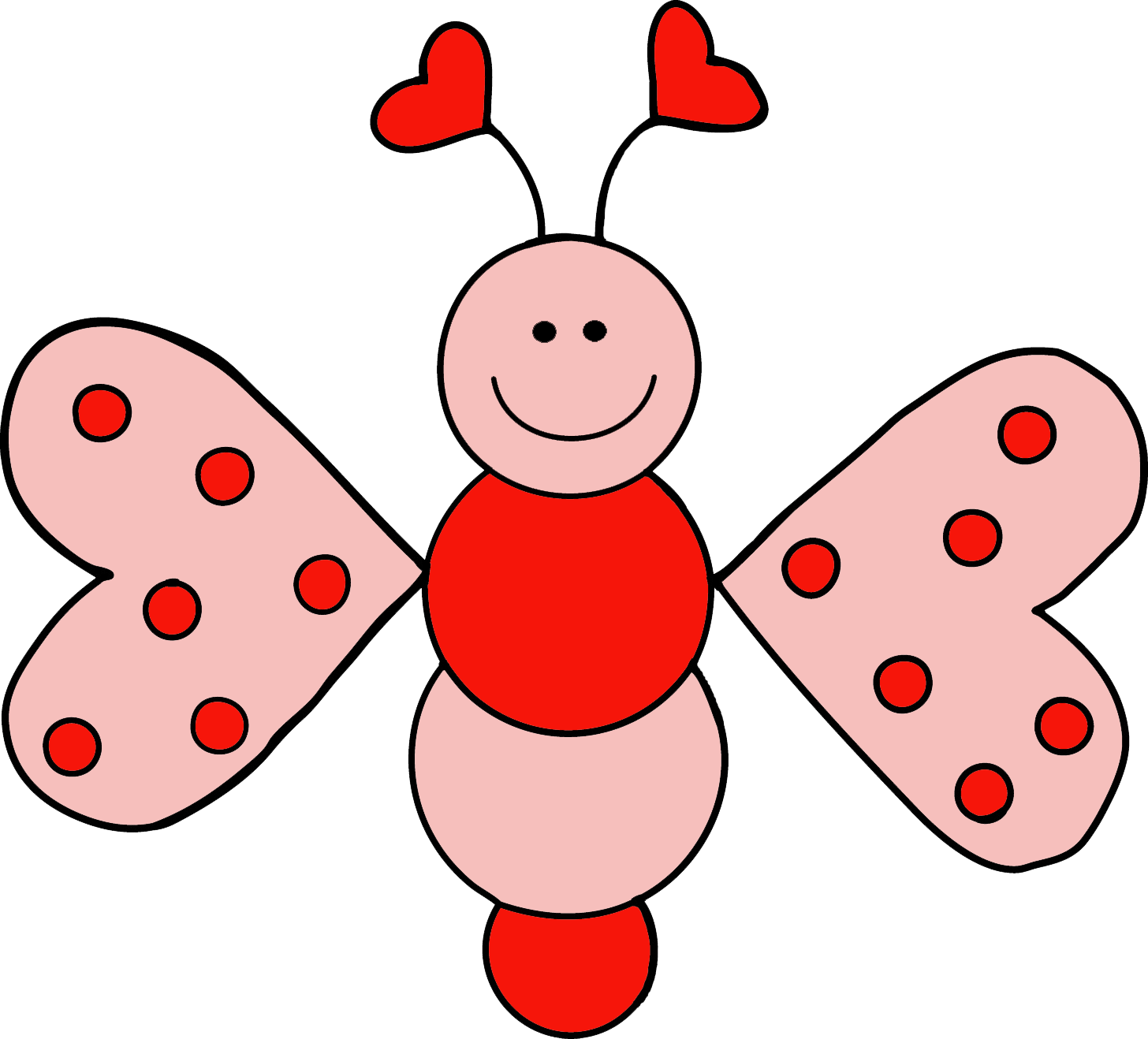1456x1318 Valentine#39s Day clipart love bug
