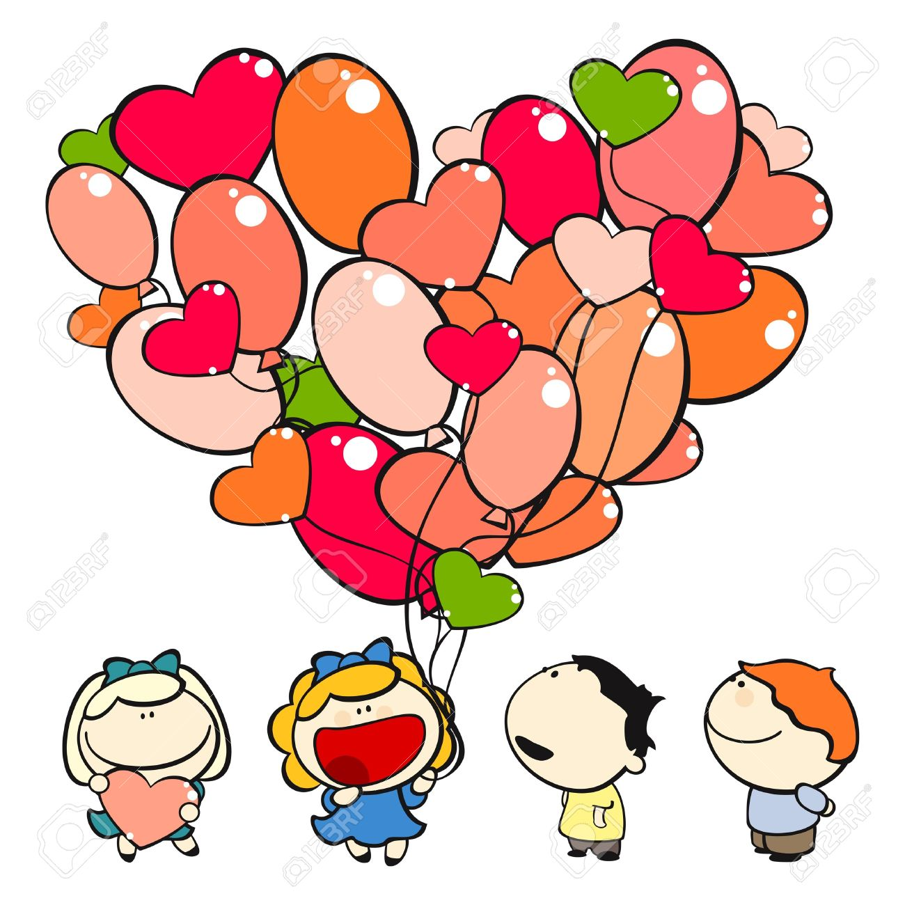 1300x1300 Best Valentine Clip Art for Kids