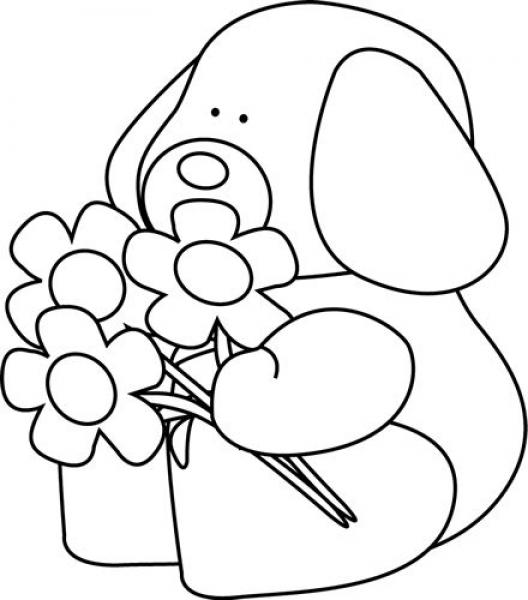 valentine clipart black and white free download best valentine
