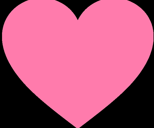 600x500 Peachy Heart Clip Art Heart Clip Art Facebook Clipart Panda Free