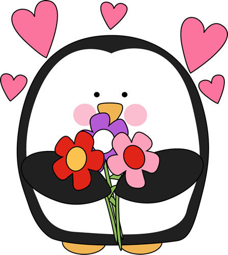 447x500 Valentine#39s Day Clip Art Flowers – Cliparts