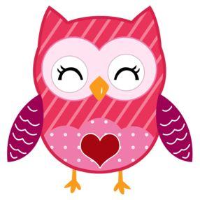 286x286 Valentine Owl Clip Art Clipart