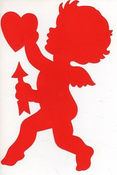236x352 Red Cupid Clipart