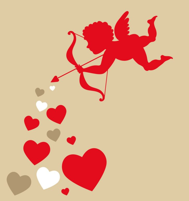 728x775 Valentine ~ Valentine Cupid Fairy Angel Cherub Set Vector Royalty