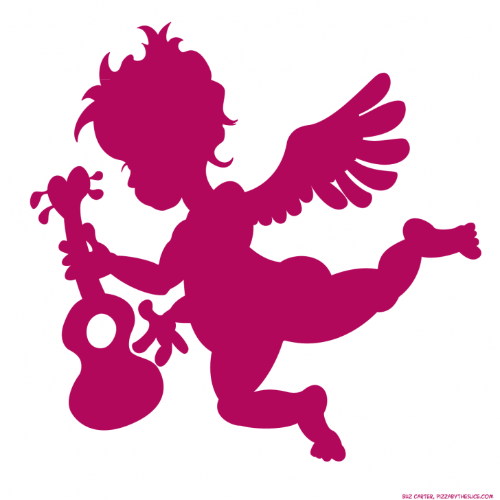 728x728 Valentine ~ Valentine Cupid Photo Ideas With Ukulele Silhouette