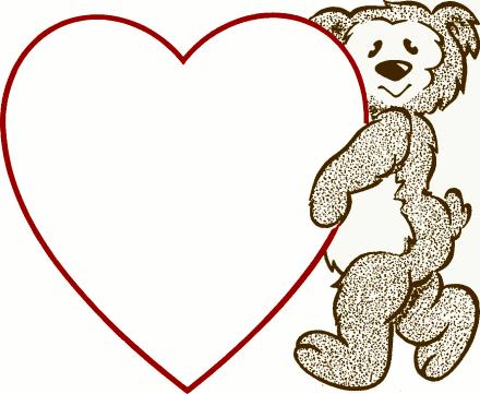 440x361 Valentine's Day Clipart Valentine Background