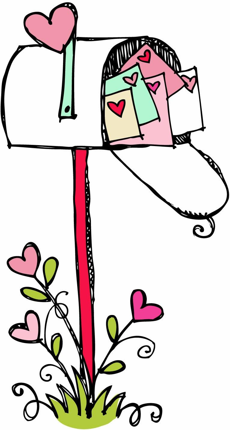 766x1428 Valentine Mailbox Clipart
