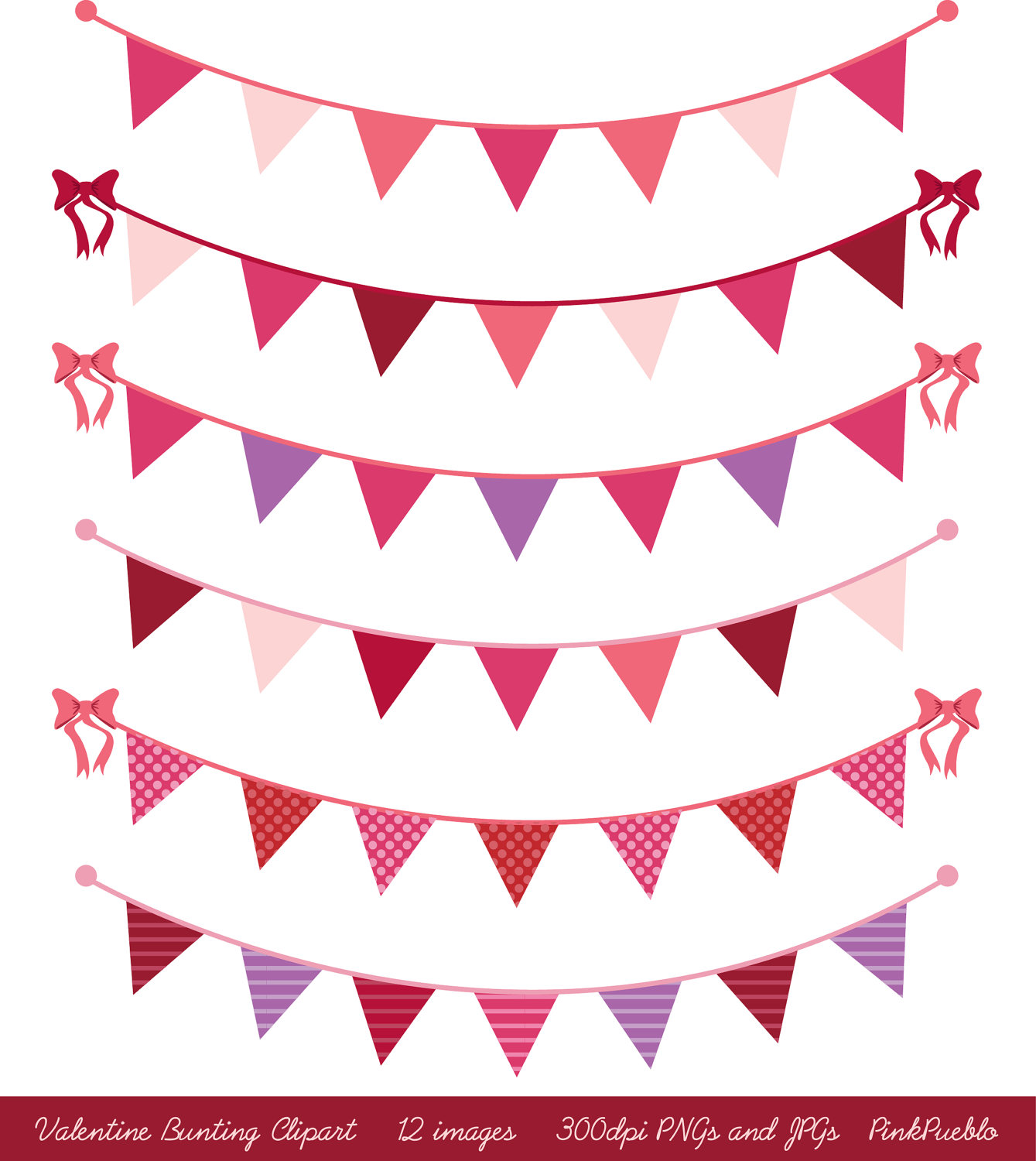 1339x1500 Valentines Day Bunting Clip Art Clipart, Valentines Day Clip Art