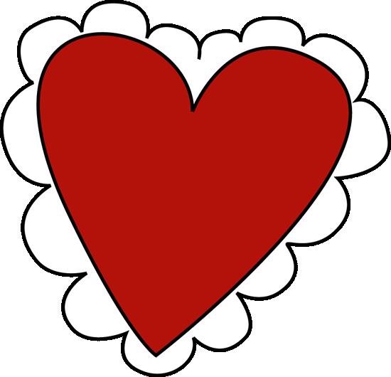 550x530 Valentine's Day Heart Clip Art