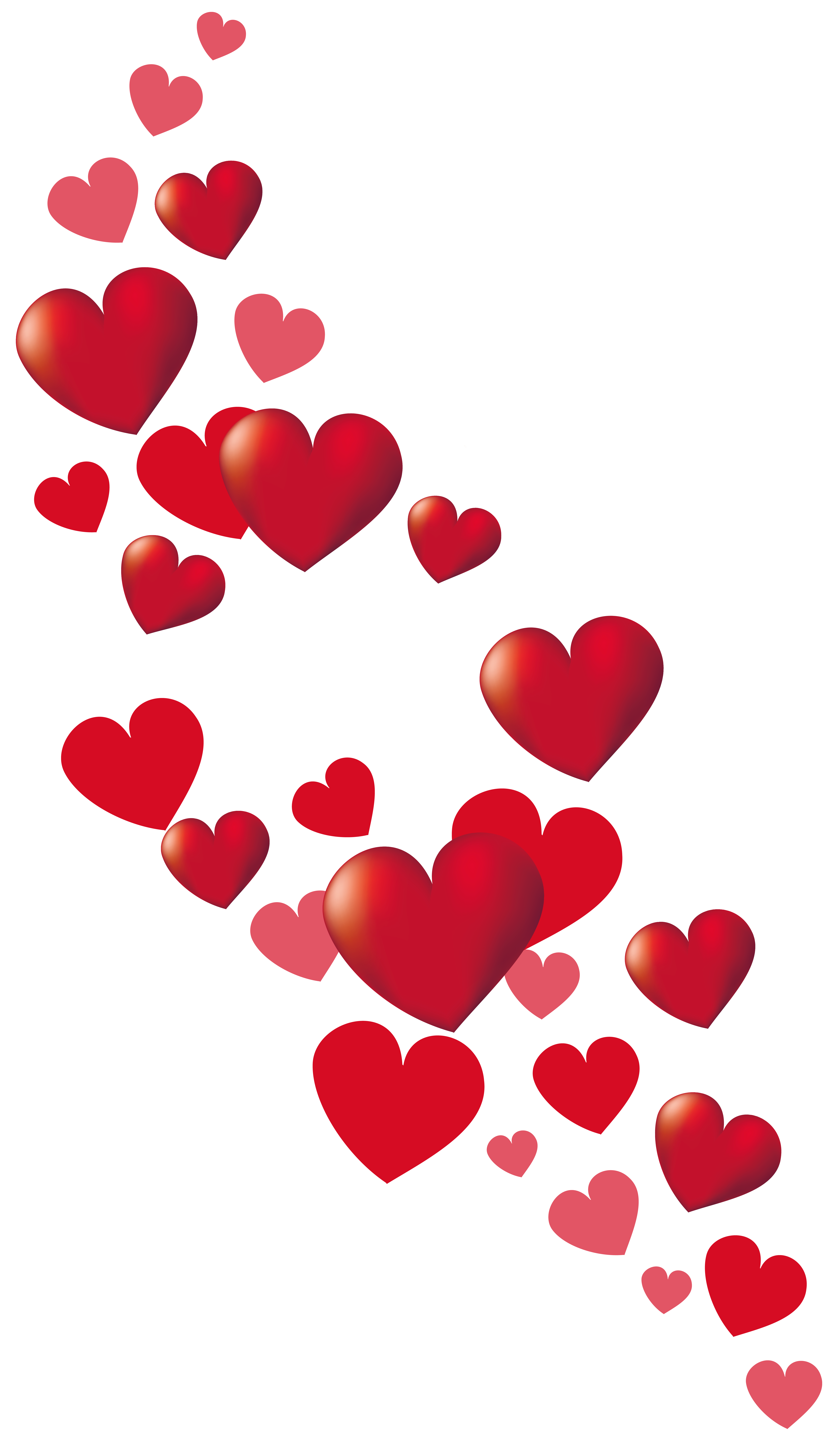 5088x8676 Valentine's Day Clipart Little Heart