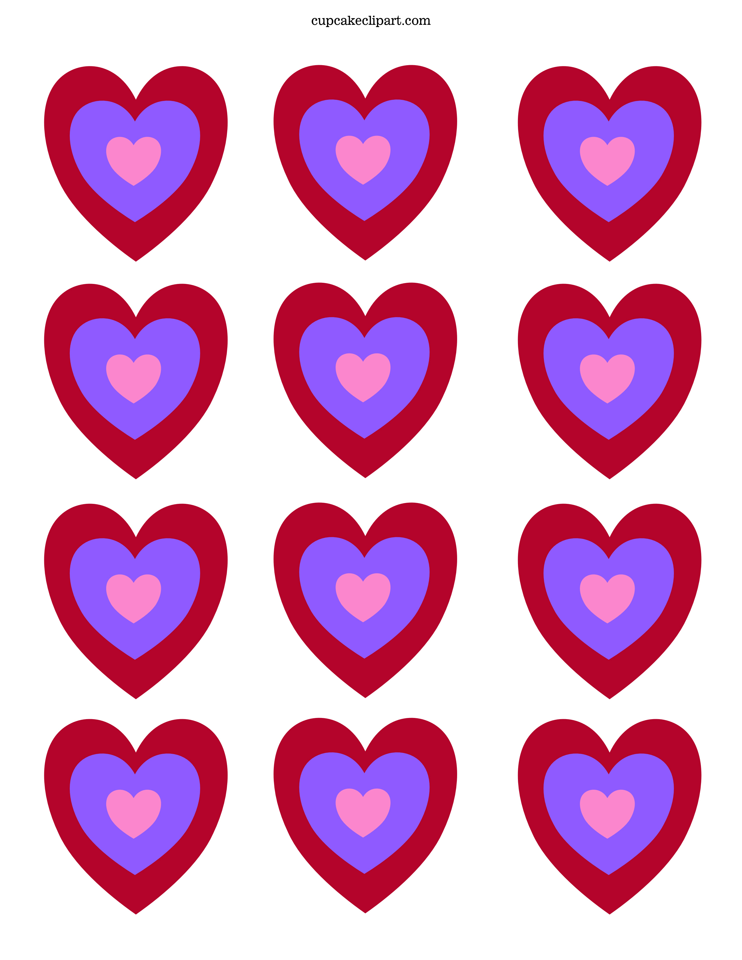 photograph about Printable Red Hearts identify Valentine Working day Pics Hearts Absolutely free obtain suitable Valentine