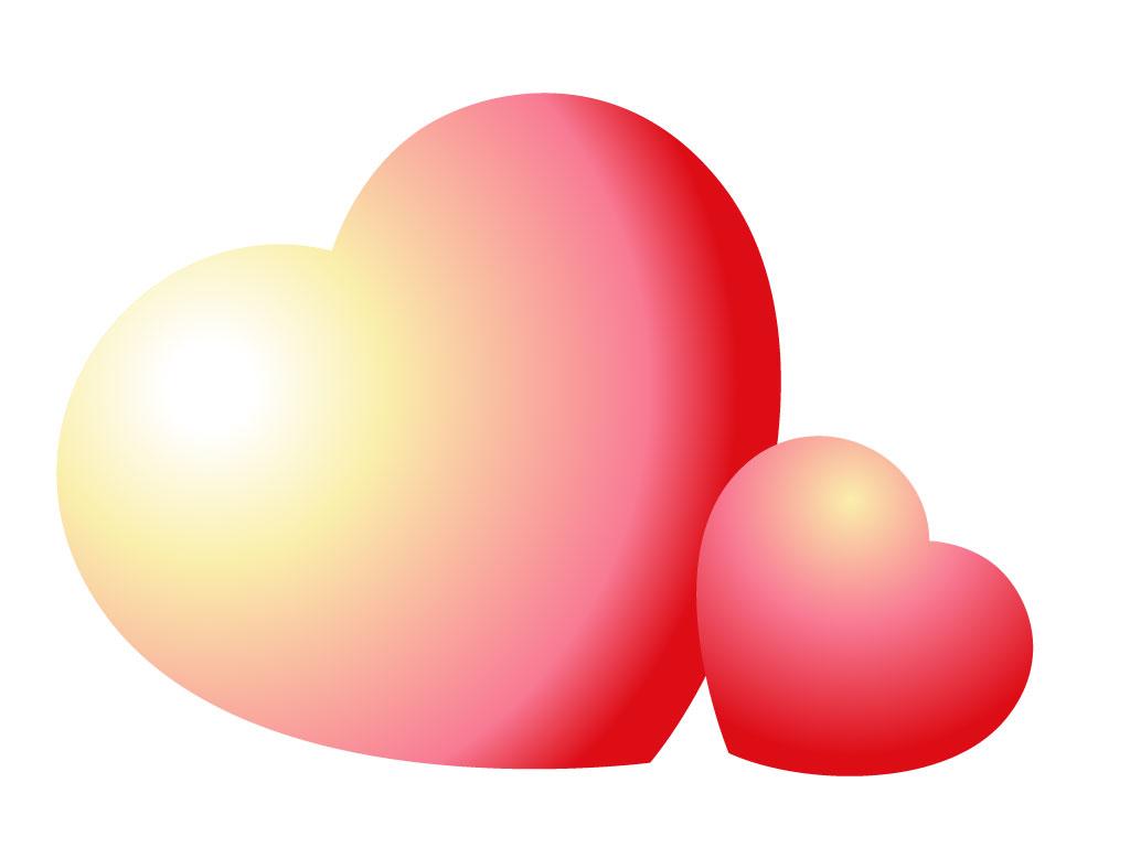 1024x768 Hearts Vector Cartoon Valentine Heart Clip Art Vector Free Vector