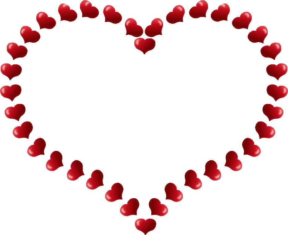929x760 Valentine's Day Clipart Border