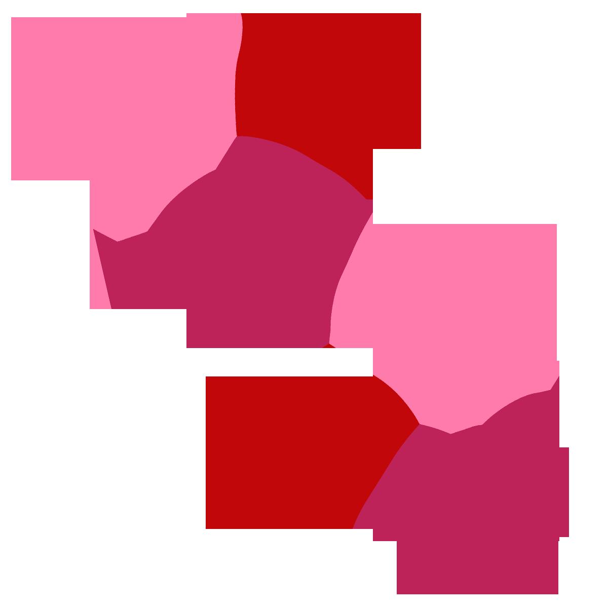 1200x1200 Valentine Hearts Clip Art