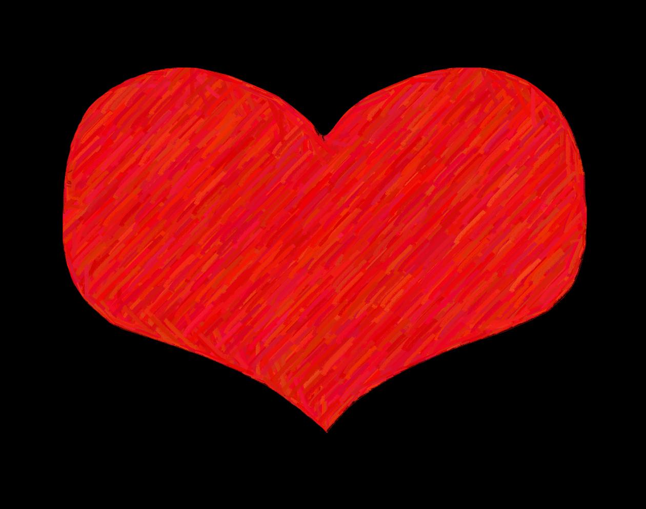 1260x994 Clip Art Of A Heart