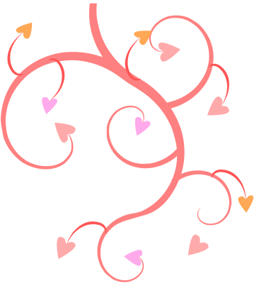 366x399 Free Valentine Hearts Clipart