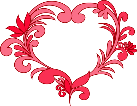 525x409 Hearts Clipart Valentines Day