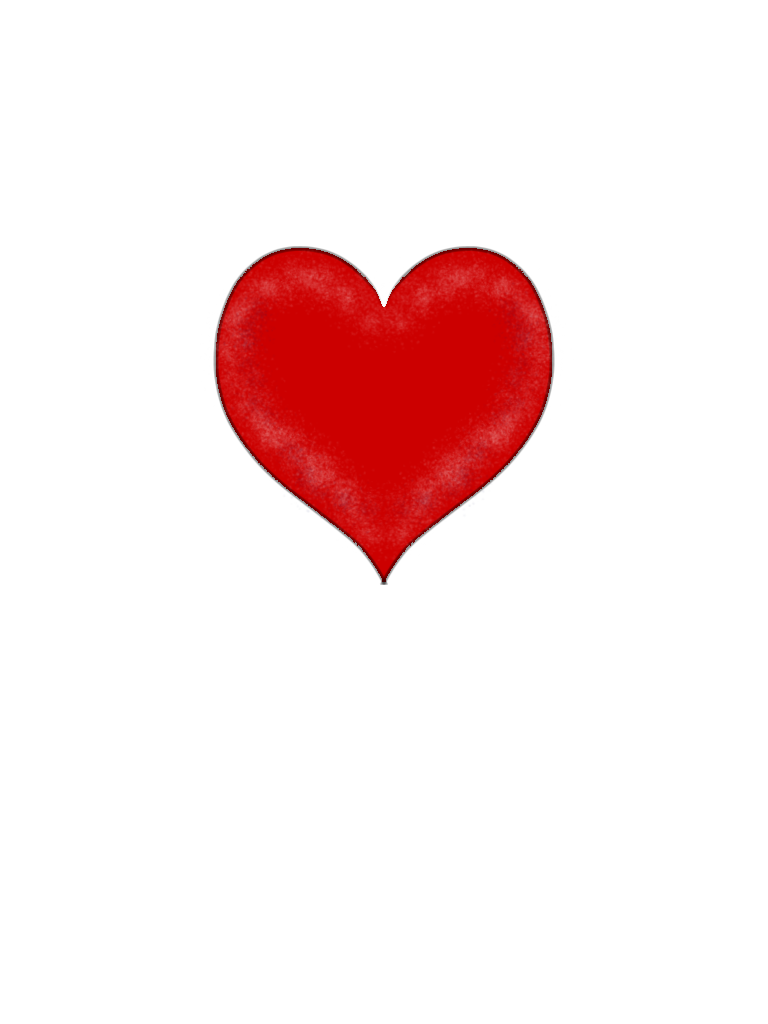 768x1024 Hearts Free Heart Clip Art Images 3