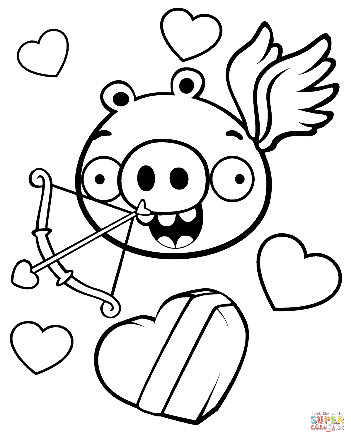 1198x1493 angry birds coloring pages free coloring pages - Valentine Coloring Sheet