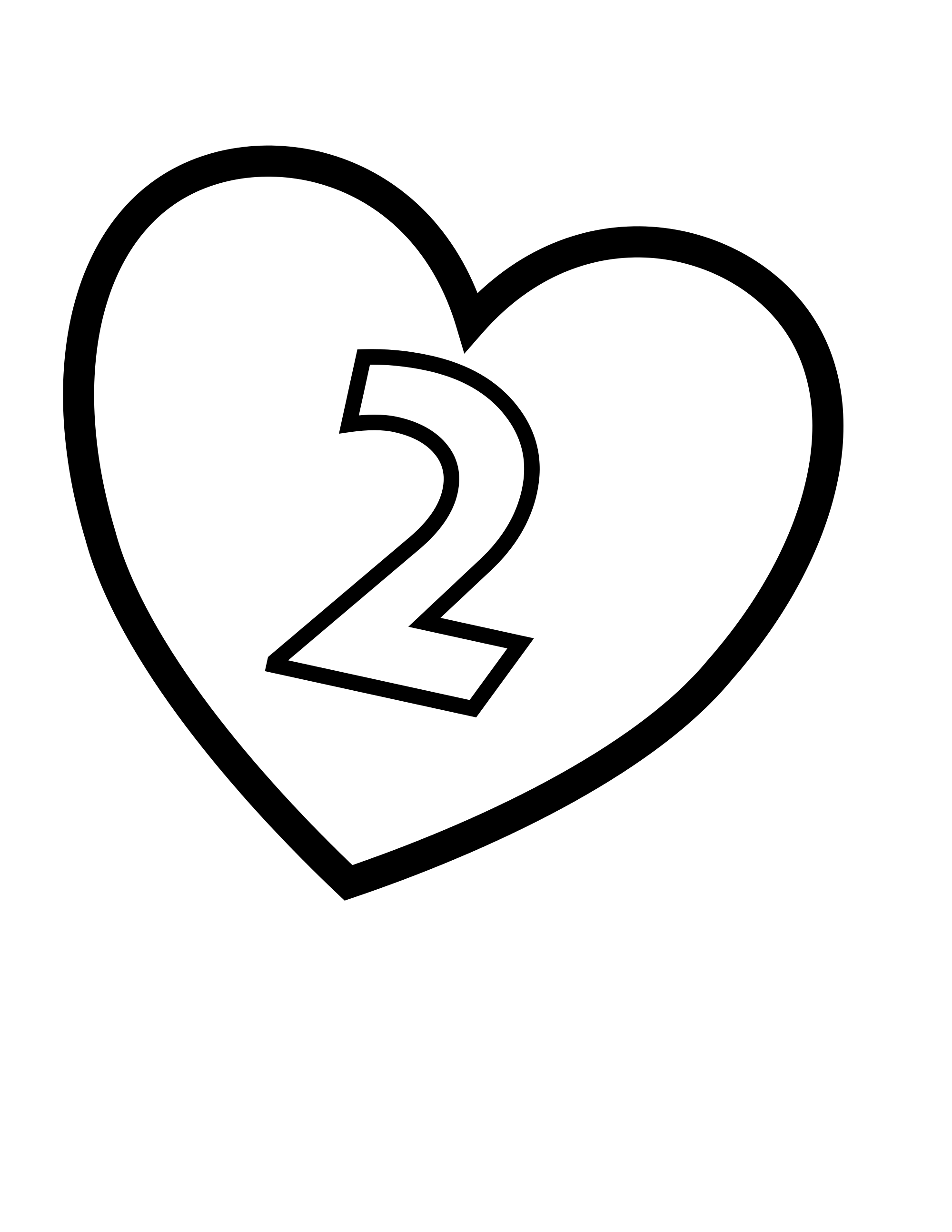 2000x2588 filevalentines day hearts number 2 2000x2588 filevalentines day hearts number 2 700x683 free printable be my valentine coloring page - Free Valentine Coloring Pages 2