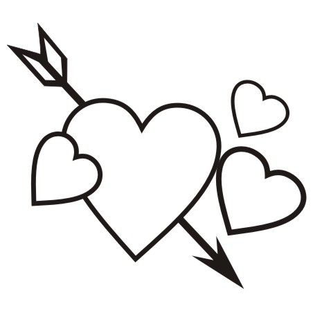 452x452 Valentines Day Clipart Black And White Many Interesting Cliparts