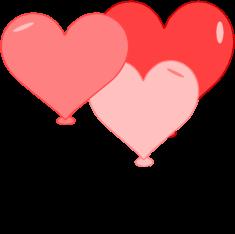 235x234 Valentine's Day Balloons Clip Art