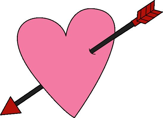 550x399 Valentine's Day Clipart Pink Valentine Hearts