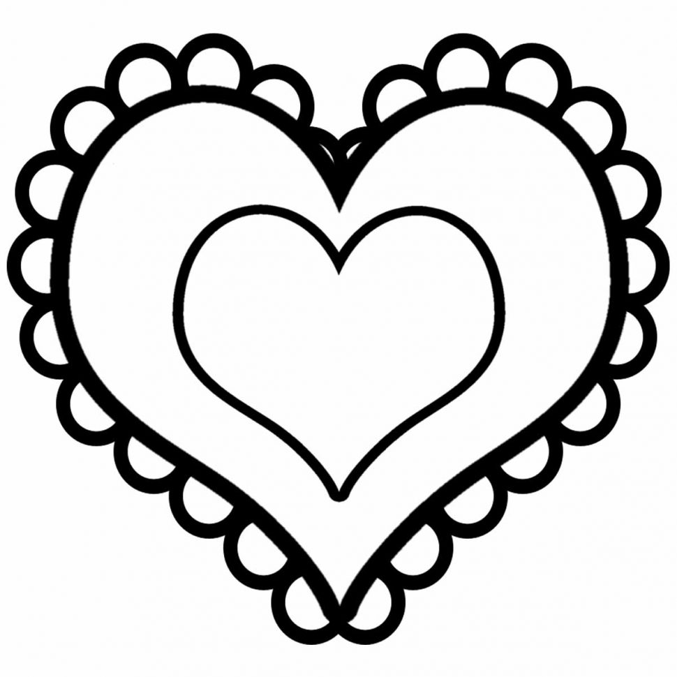 970x970 Valentine ~ Valentines Day Hearts Coloring Pages Image Ideas Heart