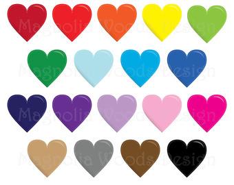 340x270 Glitter Hearts Clip Art 16 Clipart Hearts Glitter Style Rainbow