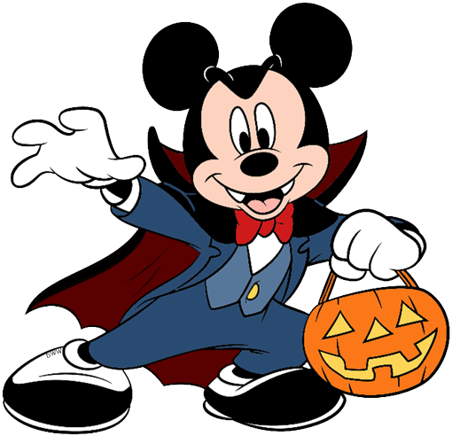 510x492 Disney Halloween Clip Art Disney Clip Art Galore