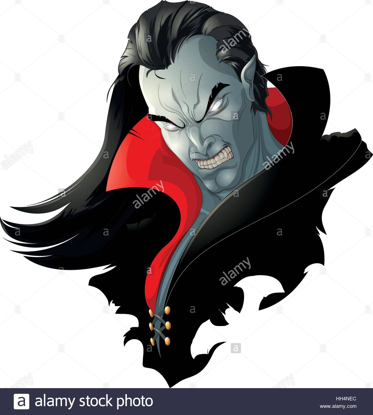 1249x1390 Evil Vampire Picture Stock Vector Art Amp Illustration, Vector Image