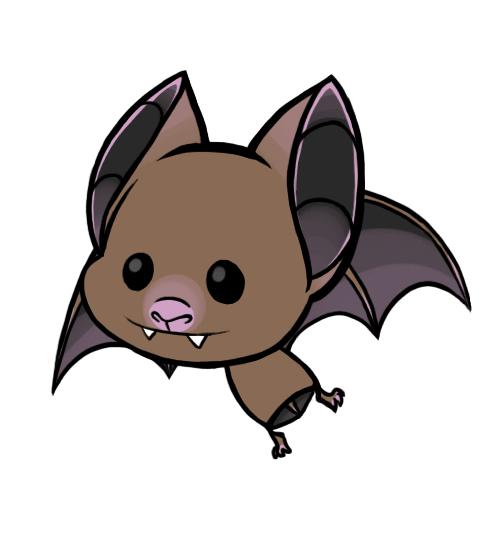 500x541 Bat Clipart Animated