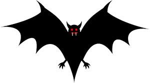 300x166 Bat Clipart Tooth