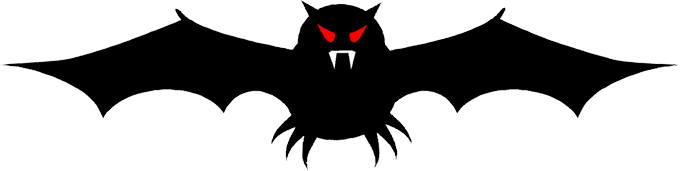 680x171 Free Vampire Bat Clipart Images