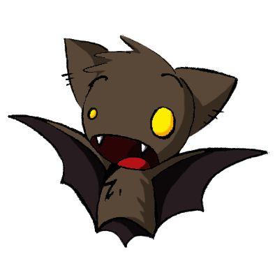 394x394 Goosebumps Clipart Vampire Bat
