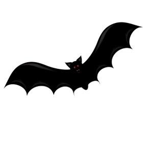 300x300 Bat Clipart Image