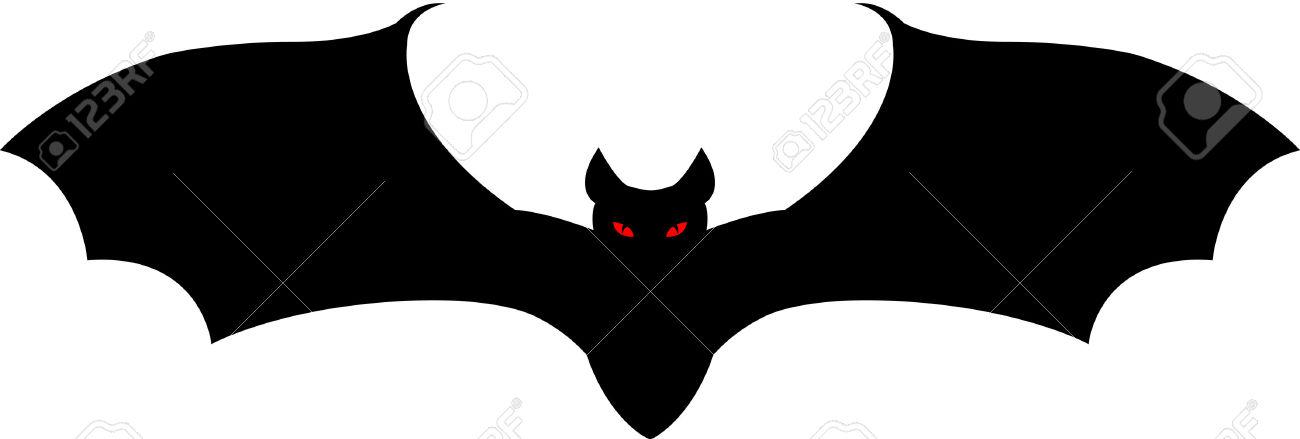 1300x439 Bat Clipart Vampire Bat