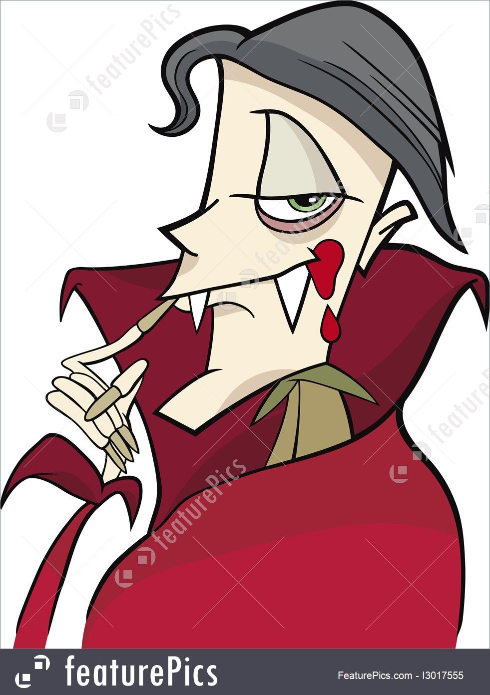 981x1392 Illustration Of Cartoon Vampire