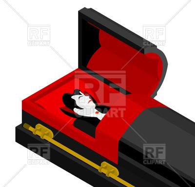 400x383 Vampire (Dracula) In Coffin
