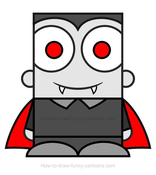 520x583 Vampire Clipart Simple