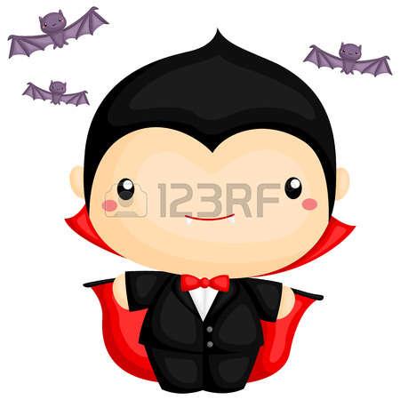 450x450 Boy Vampire Clipart