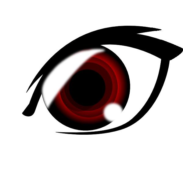600x575 Vampire Anime Eye Clip Art