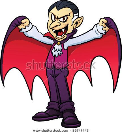431x470 Scary Cute Vampire Clipart